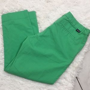 Patagonia Women's All Wear Green Stretch Capris 12